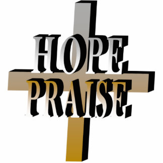 Hope and Praise Pin Photo Sculpture
