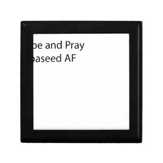 Hope and Pray%0APepaseeD Small Square Gift Box