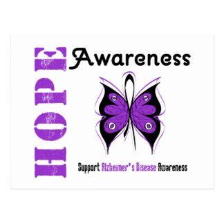 Hope Awareness Alzheimer's Disease Postcard