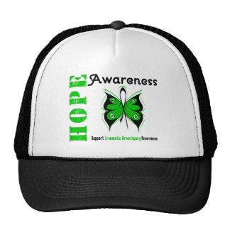 Hope Awareness Traumatic Brain Injury Mesh Hats