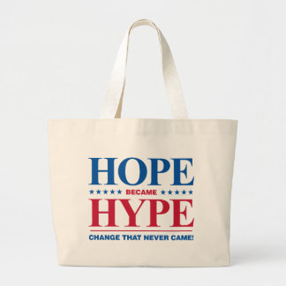 Hope Became Hype Canvas Bags