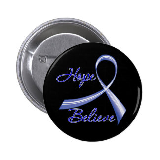Hope Believe Colon Cancer Pins