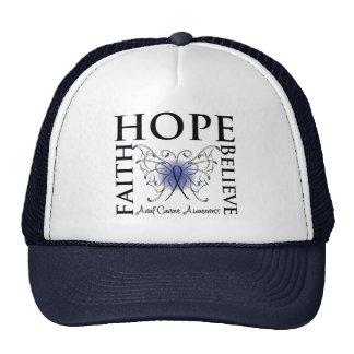 Hope Believe Faith - Anal Cancer Cap