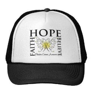 Hope Believe Faith - Bladder Cancer Cap