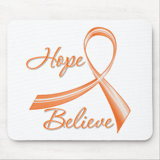 Hope Believe Leukemia Mouse Pads