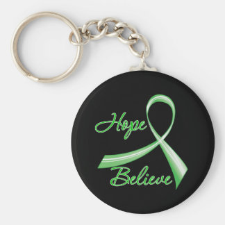 Hope Believe Spinal Cord Injury Key Chains