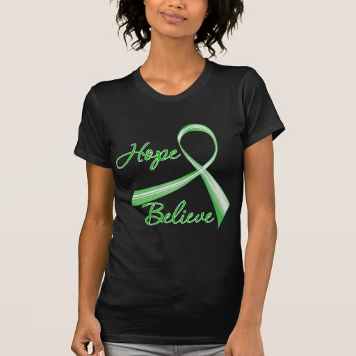 Hope Believe Spinal Cord Injury Tshirts