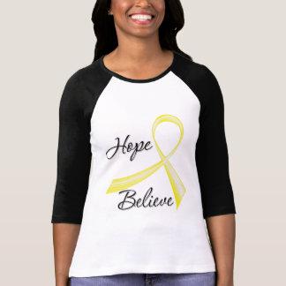 Hope Believe Testicular Cancer T-shirt