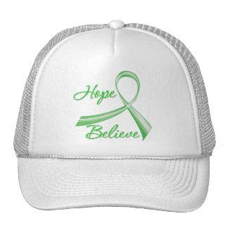 Hope Believe Traumatic Brain Injury Trucker Hat