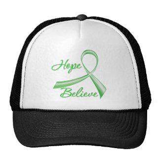 Hope Believe Traumatic Brain Injury Trucker Hats