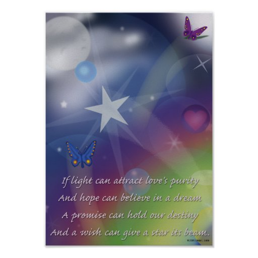Hope believes in the dream poster