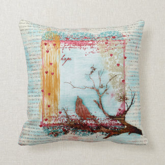 Hope Bird Pillow