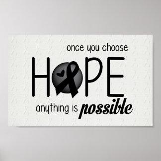 Hope (Black) Poster