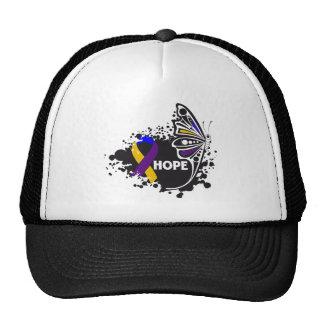 Hope Bladder Cancer Butterfly Cap
