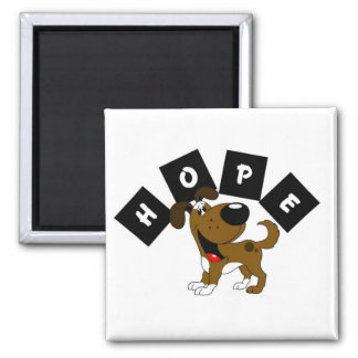 Hope (Boots) Square Magnet