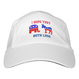 Hope Both Lose Political Hat Republican Democrat