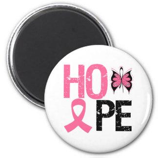 Hope Breast Cancer Awareness Fridge Magnet