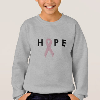 Hope Breast Cancer Ribbon Sweatshirt