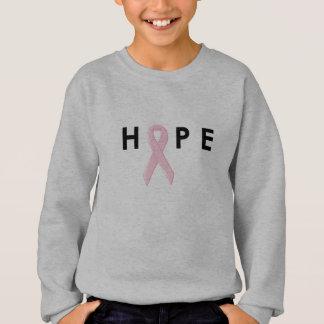 Hope Breast Cancer Ribbon Sweatshirt