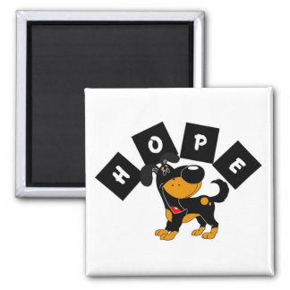 Hope (Bubba) Square Magnet