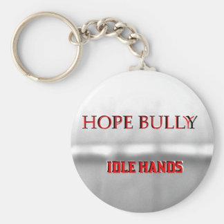 Hope Bully Keychain