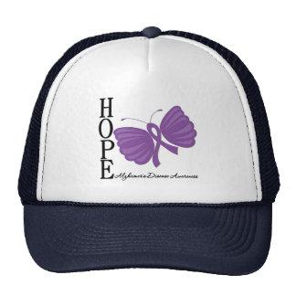 Hope Butterfly Alzheimer's Disease Trucker Hat