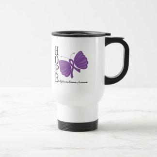 Hope Butterfly Alzheimer's Disease Coffee Mugs