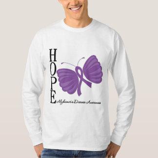 Hope Butterfly Alzheimer's Disease Tshirt