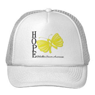 Hope Butterfly Bladder Cancer Trucker Hat