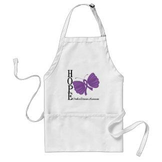 Hope Butterfly Crohn's Disease Apron