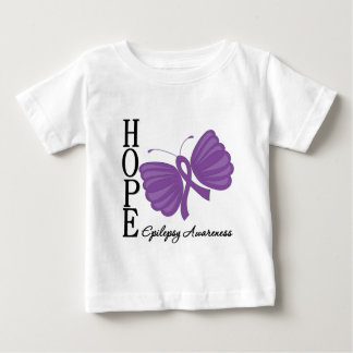 Hope Butterfly Epilepsy Baby T-Shirt