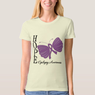 Hope Butterfly Epilepsy T-Shirt