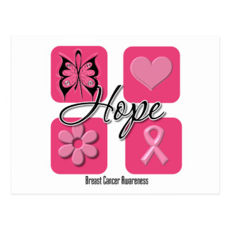 Hope Butterfly Inspires - Breast Cancer Post Cards