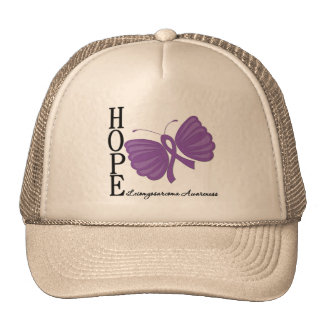 Hope Butterfly Leiomyosarcoma Hat