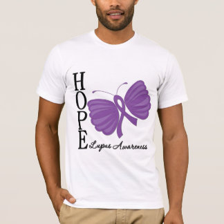 Hope Butterfly Lupus T-Shirt