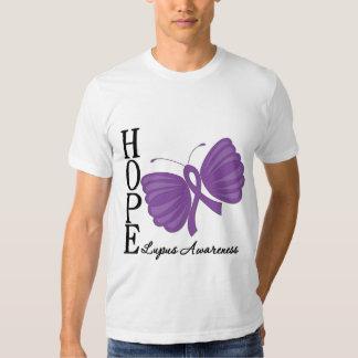 Hope Butterfly Lupus Tee Shirt