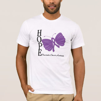 Hope Butterfly Pancreatic Cancer T-Shirt