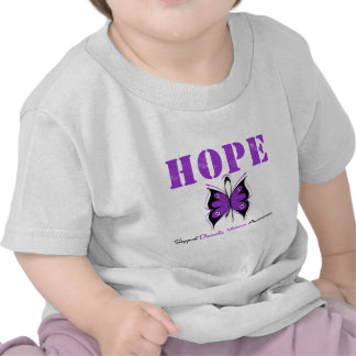 Hope Butterfly Ribbon Domestic Violence Tees