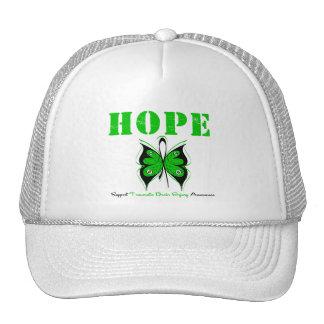 HOPE Butterfly RibbonTraumatic Brain Injury Trucker Hats