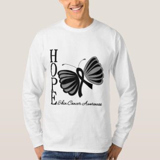 Hope Butterfly Skin Cancer T Shirts