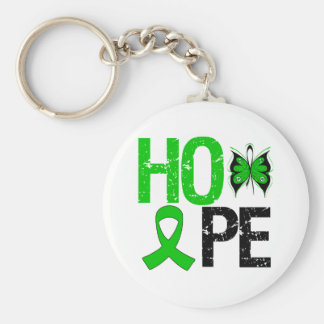 Hope Butterfly Spinal Cord Injury Key Chain