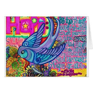 Hope. Card