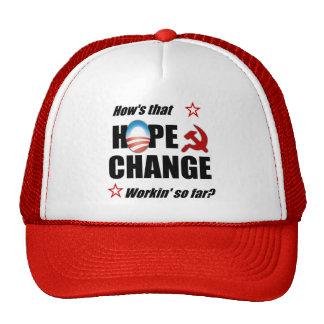 Hope & Change? Cap