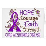 Hope Courage Faith Strength 3 Alzheimer's Disease