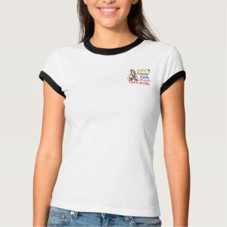 Hope Courage Faith Strength 3 Autism T-shirt