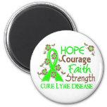 Hope Courage Faith Strength 3 Lyme Disease