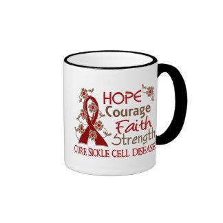 Hope Courage Faith Strength 3 Sickle Cell Disease Coffee Mug