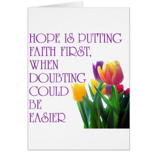 Hope, Dreams and Beauty Card