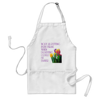 Hope, Dreams and Beauty Standard Apron
