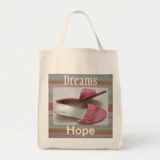 Hope & Dreams Pretty Tote Grocery Bag